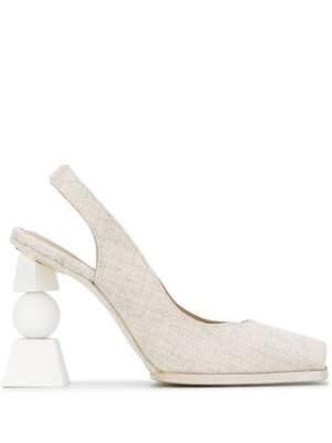Geometric Heel Linen