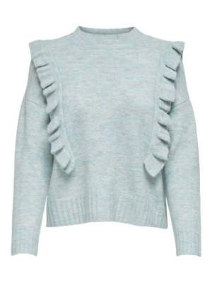 Ruffle Front Knit