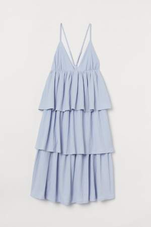 V Neck Tiered Dress