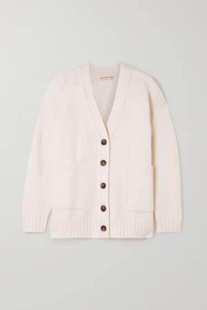 Cashmere & Wool Blend Cardigan