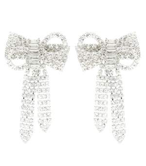 Swarovski Bow Earrings