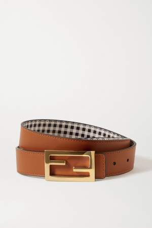 Reversible FF Leather Belt