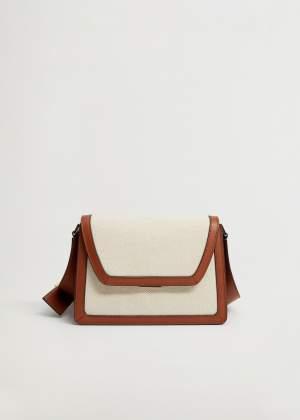 Fabric Contrast Bag