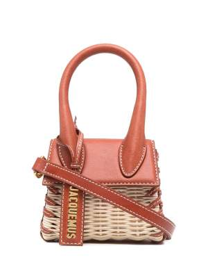 Mini Wicker Bag