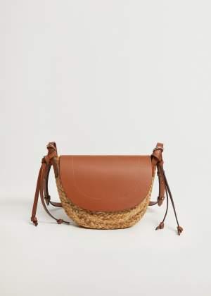 Tassel Detail Jute Bag