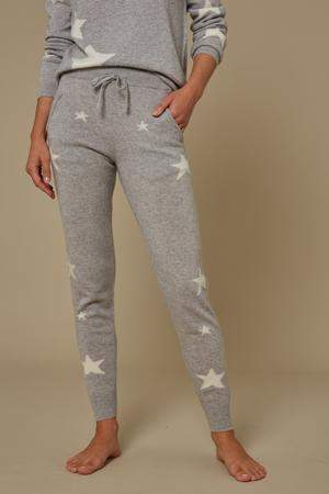 Star Cashmere Joggers