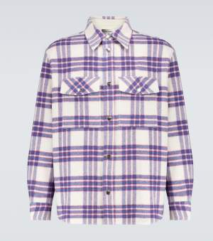 Thick Checked Overshirt