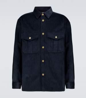 Navy Corduroy Overshirt