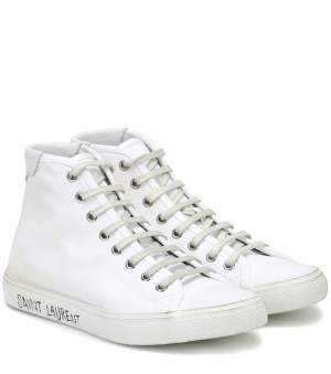 Hi Top Canvas Sneakers