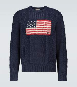 Patchwork Flag Jumper