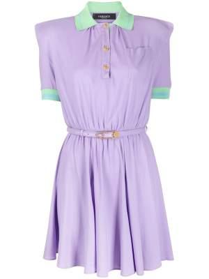 Polo Dress Purple