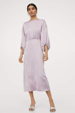 Satin Dress Lilac