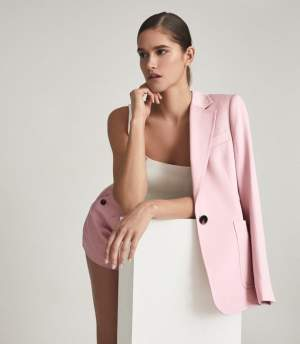 Tailored Pink Suit