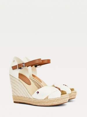 Colour Block Wedge Sandals