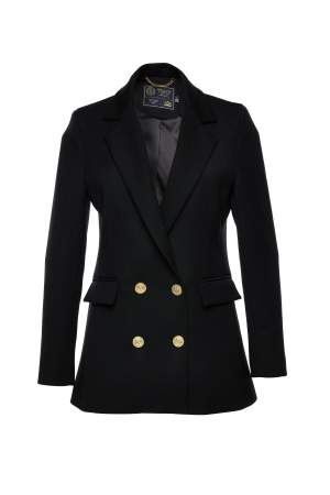 Double Breasted Blazer Black