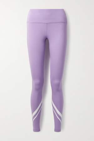 Stripe Detail Leggings Lilac