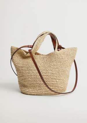 Raffia Shopper Bag