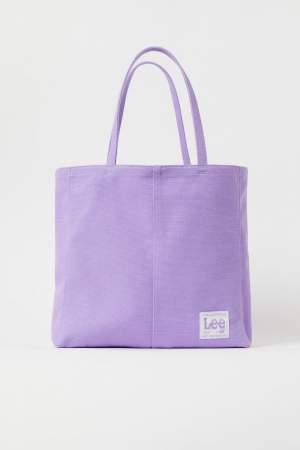 Canvas Shopper Lilac