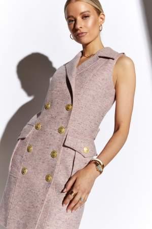 ITF x HC Chelsea Dress in Anniversary Pink
