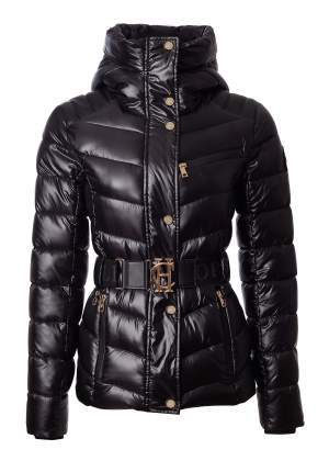 Quilted Puffer Jacket (Black Version)