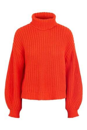 Chunky Knit Orange