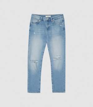 Mid Rise Crop Jeans