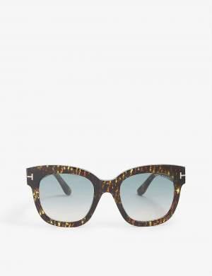 Blue Lense Sunglasses