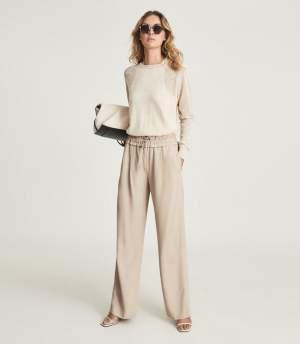 Wide Leg Trousers Camel