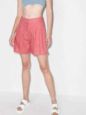 High Waisted Shorts Rose