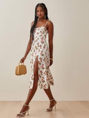 Linen Dress Cherry