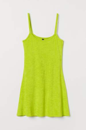 Jersey Dress Neon