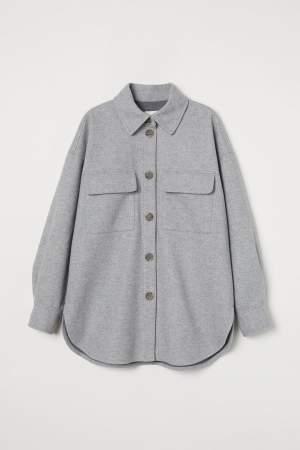 Shirt Jacket Grey