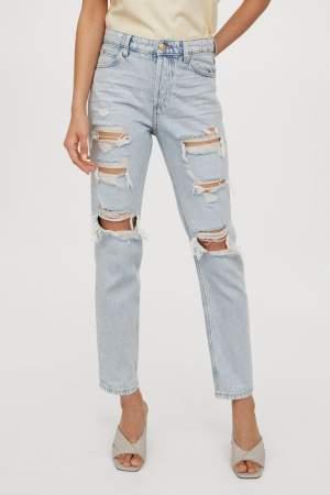 Regular Fit Distressed Jeans