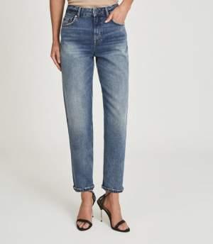 Straight Leg Mid Blue