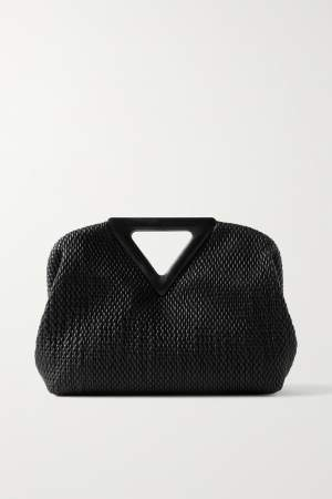 Quilted Tote Black