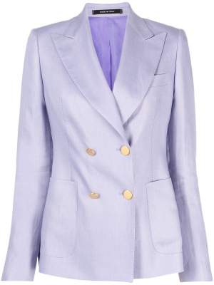 Double Breasted Blazer Lilac