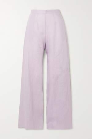 Wide Leg Pants Lilac