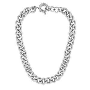 Luxor Chain Necklace Silver