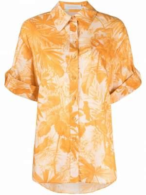 Floral Shirt Yellow