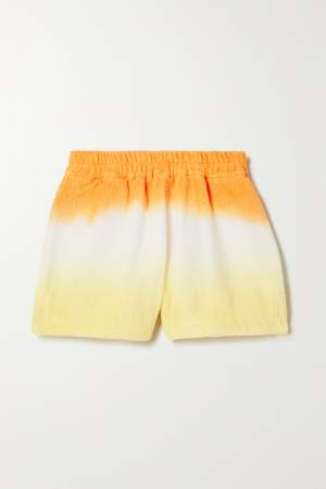 Ombre Terry Cloth Shorts