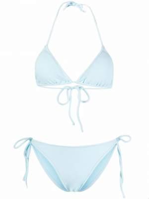 Terry Cloth Bikini Blue