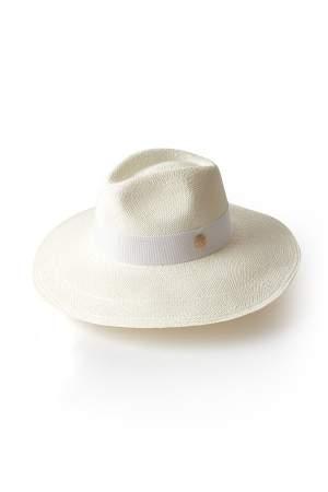 Straw Panama Hat White
