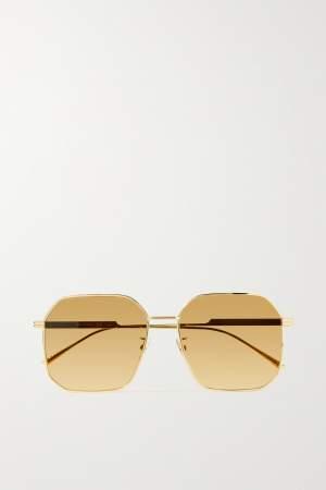 Hexagon Frame Sunglasses