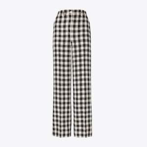 Linen Gingham Pants