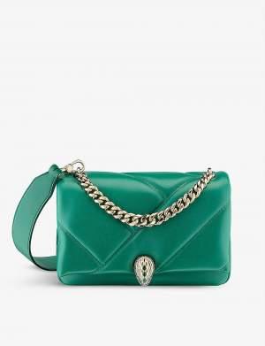 Exclusive Cabachon Bag Green