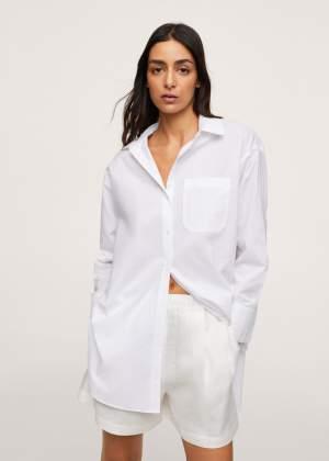 Chest Pocket Cotton Shirt