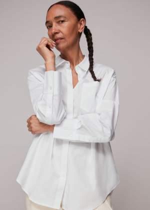 Oversized Sustainable Shirt White