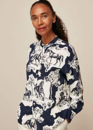 Stallion Print Shirt