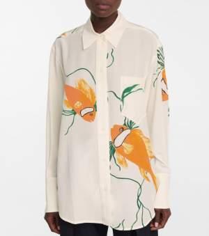 Oversized Silk Shirt