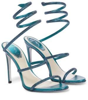 Embellished Sandals Teal